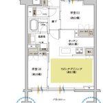 クリオ レジダンス横濱ザ・マークス Jタイプ