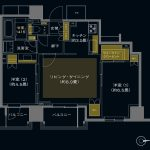 (仮称)三鷹駅直結タワープロジェクト Lタイプ 間取り
