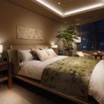 マジェスタワー六本木 ベッドルーム