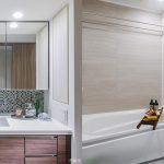 ザ・パークハウス アーバンス 白金 パウダールーム バスルーム