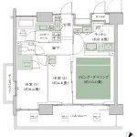 シティテラス横浜 タイプN-J 間取り