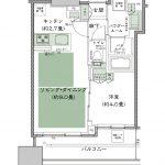 シティタワー大阪本町 タイプE-35D デザイン