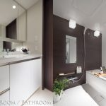 シティテラス八千代緑が丘ブリーズコート パウダールーム バスルーム