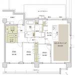 ザ・パークハウス 朝霞台レジデンス タイプQr【Premium Plan】間取り